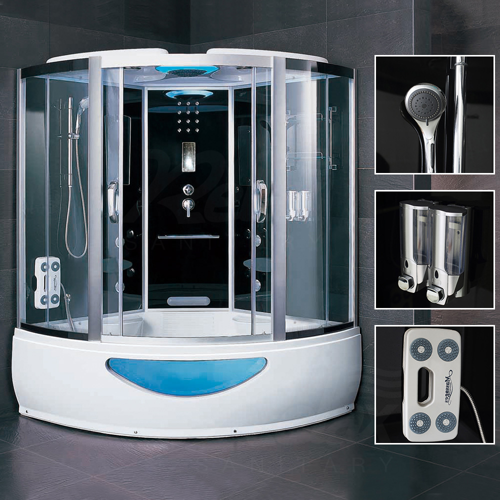 Venice Series 5in1 Shower Room With Jacuzzi Double