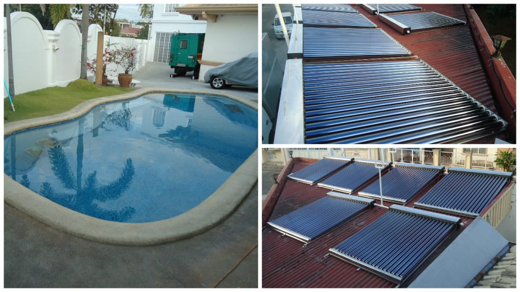 Angeles Thermo Tank Pool Heater Project
