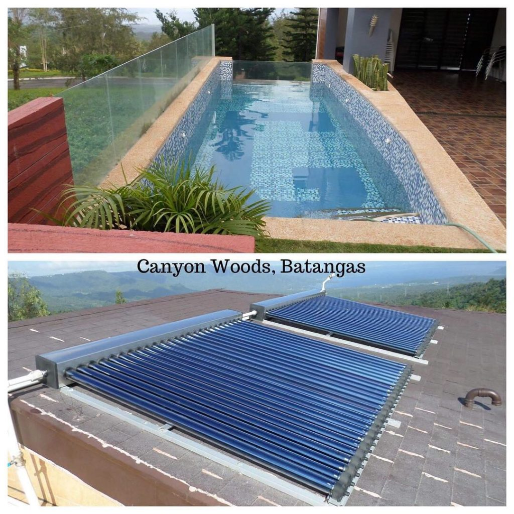 Solar Pool Heater- Canyon Woods